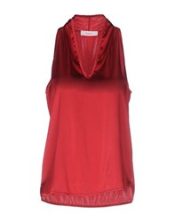 Jucca Topwear Tops Women Red