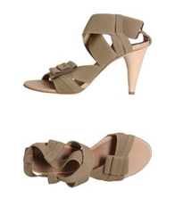 Acrobats Of God High Heeled Sandals Khaki