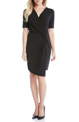 Karen Kane Women's Faux Wrap Dress