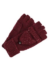 Dorothy Perkins Mittens Red Dark Red