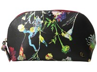 Elliott Lucca Dome Cosmetic Black Spring Botanica Cosmetic Case