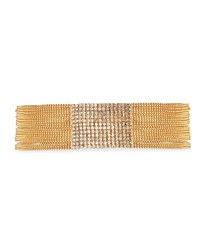 Fragments For Neiman Marcus Pave Clear Crystal Choker Gold