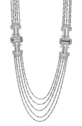 Louise Et Cie Women's Louie Et Cie 'Drama' Multistrand Pave Necklace