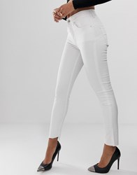 Salsa Sculpting Push Up Skinny Jeans White