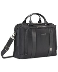 Travelpro Crew Executive Choice Pilot Briefcase With Usb Charging Port Black
