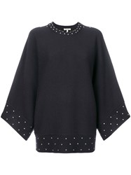 Each X Other Studded Detail Jumper Wool Black
