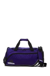 Adidas Team Speed Medium Duffel Bag Collegiate Purple Black