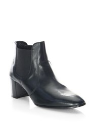Pedro Garcia Xelo Leather Chelsea Boots Black