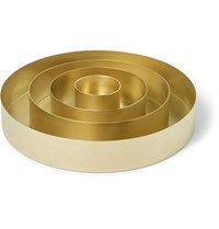 Tom Dixon Orbit Set Of 4 Brass Trays Brass