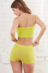 Out From Under Seamless Boyshort Lime