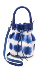 Meli Melo Lux Guia Haircalf Bucket Bag Tie Dye