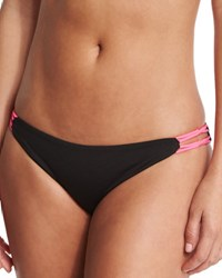 Basta Surf Bondi Reversible Swim Bottom Noir Silver Pink