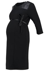 Mama Licious Mlreco Jersey Dress Black