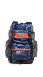 Adidas By Stella Mccartney Tech Backpack Indigo Granite Red