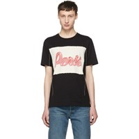 Maison Martin Margiela Black 'Paris' T Shirt
