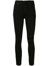 Nobody Denim Cult Skinny Fit Jeans Black