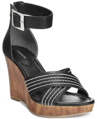 Styleandco. Style And Co. Raynaa Ankle Strap Platform Wedge Sandals Only At Macy's Women's Shoes