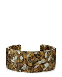 Jaeger Monica Mosaic Cuff Brown