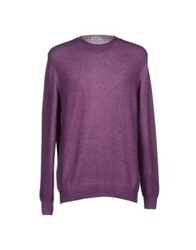 Cains Moore Sweaters Purple