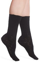 Treasure And Bond Boot Socks Black Solid