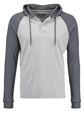 Your Turn Long Sleeved Top Light Grey Dark Grey Mottled Light Grey
