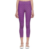Molly Goddard Purple Alix Leggings