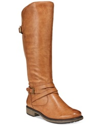 Bare Traps Susanna Riding Boots Women's Shoes Brushed Brown
