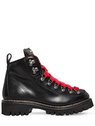 Dsquared 45Mm Nubuck Hiking Boots Black