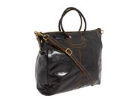 Hobo Sheila Black Vintage Leather Tote Handbags