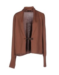 Peserico Knitwear Cardigans Women Light Brown