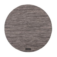 Chilewich Knit Round Placemat Brown