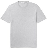 Mr P. Knitted Cotton T Shirt Gray