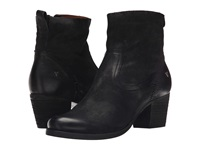 Trask Megan Black Italian Washed Nubuck Women's Dress Boots