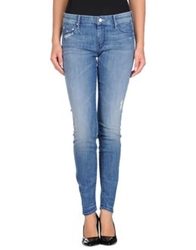 Mother Denim Pants Blue