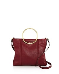 Foley Corinna And Ma Cherie Tyler Crossbody Berry Red Gold