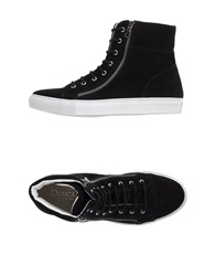 Doucal's High Tops And Trainers Black