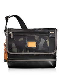 Tumi Beale Crossbody Messenger Bag Grey Camo