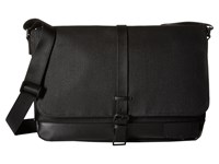 Calvin Klein Coated Canvas Messenger Bag Black Messenger Bags