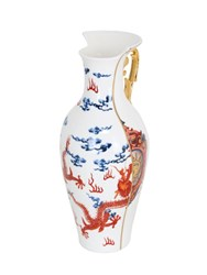 Seletti Hybrid Adelma Bone China Vase Multicolor