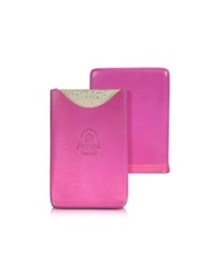 Peroni Genuine Leather Card Case Pink