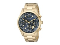 Guess U0602g1 Gold Blue Dress Watches