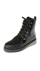 United Nude Hiker Combat Boots Black