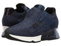 Ash Look Lace Navy Navy Women's Shoes Blue