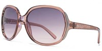 Carvela 26Car034 Pink Brown Square Sunglasses