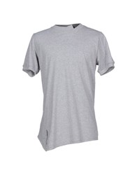 Yes London Topwear T Shirts Men Light Grey