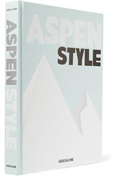 Assouline Aspen Style By Aerin Lauder Hardcover Book Gray