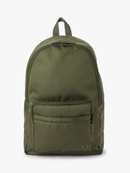 Fred Perry Tonal Tipped Backpack Olive