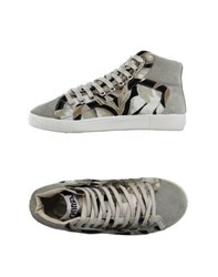 Springa Footwear High Tops And Trainers Women Grey