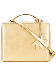 Mark Cross Large 'Grace' Tote Metallic