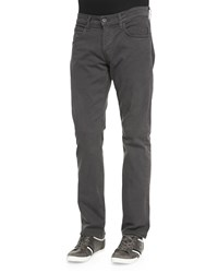 Byron Twill Five Pocket Jean Dark Gray Hudson Jeans Dk Gray